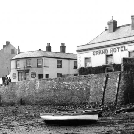 The Grand hotel taken from the estuary