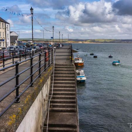 The quay at Appledore