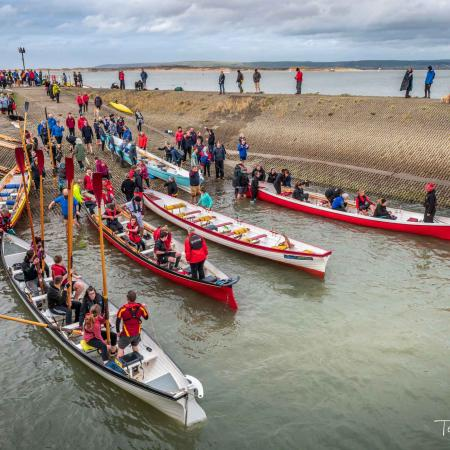 Gig racing at Appledore